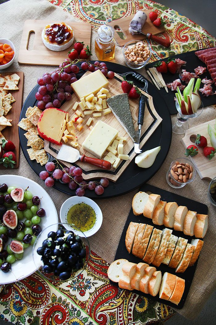 10 AMAZING things to add to a cheese platter!