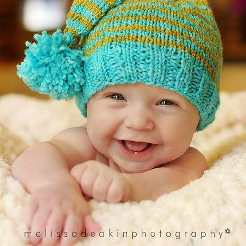 : Cutest Baby, Happy Baby, Baby Baby, Baby Boys, Children, Baby Hats, Kids, Smile, Baby Photos