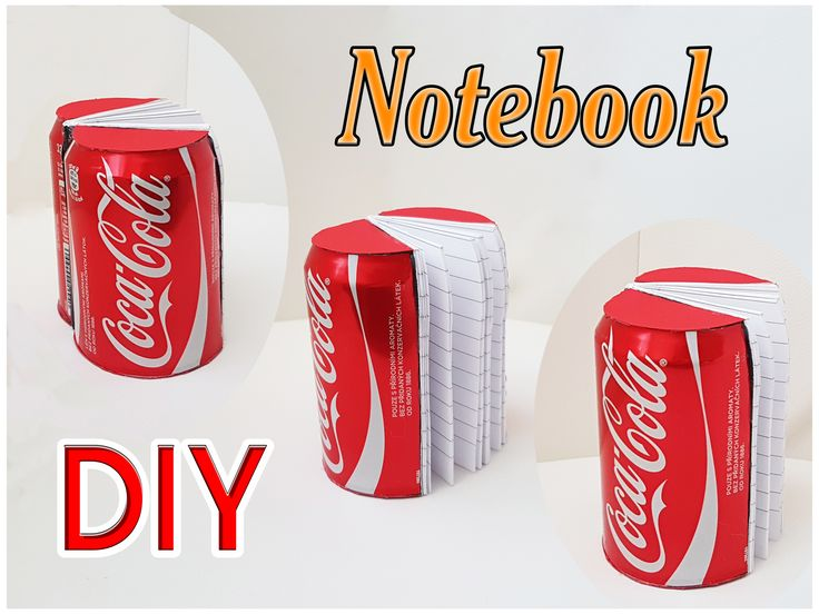 Subscribe our channel for more DIY CRAFTS: https://www.youtube.com/channel/UCpjSSzpVwY4QTQt8Ea421PA  Notebook tutorial: https://www.youtube.com/watch?v=wwBq3DpK_80  #diy #coke #cocacola #cola #notebook #diynikolalexandra #craft #school