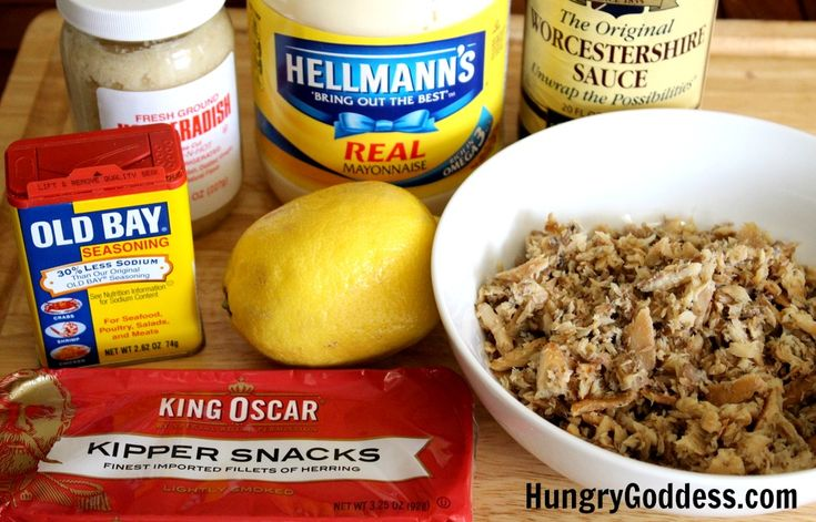 Smoked Fish Dip with Kippers Recipe Ingredients from The Hungry Goddess