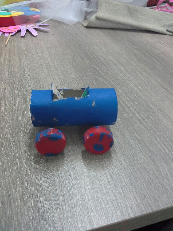 Toilet paper car