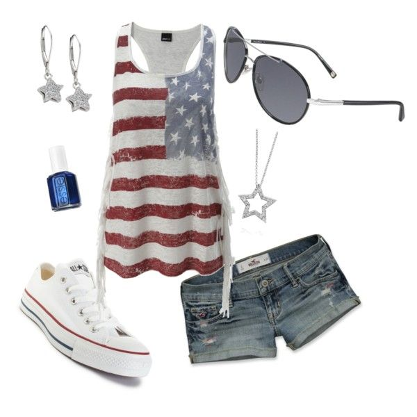 My next Fourth of July outfit(: