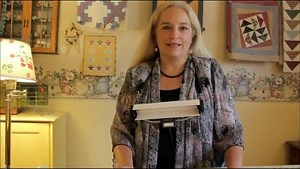 Instruction video for hand quilting for beginners, the rocking motion, and knot.