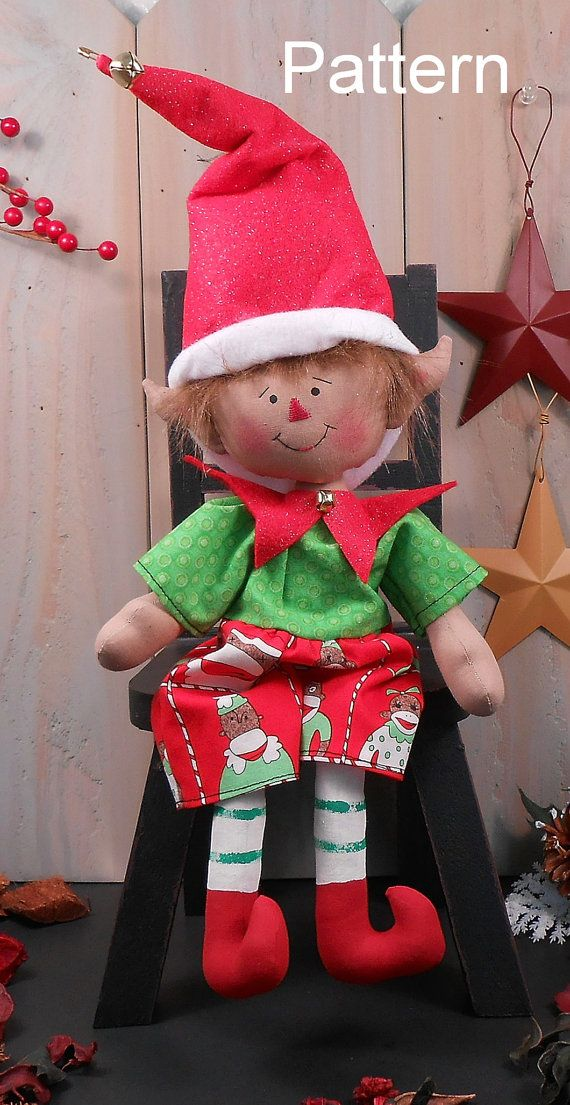 Hey, I found this really awesome Etsy listing at https://www.etsy.com/listing/195211679/pdf-e-pattern-76-christmas-elf-boy