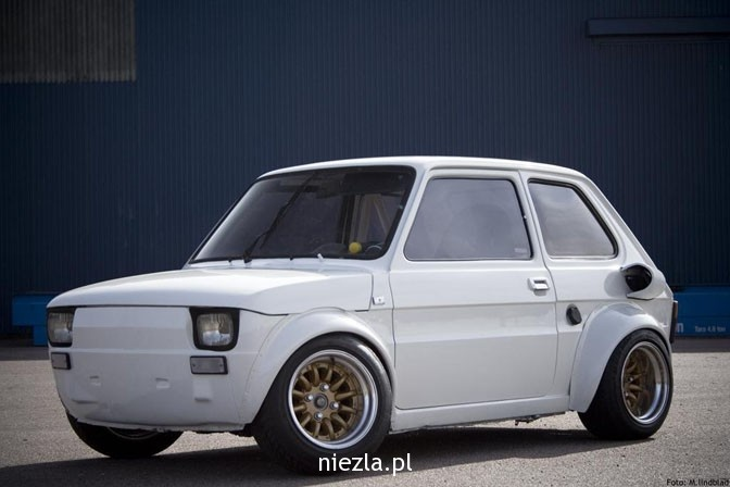 Fiat 126p, made in Poland 1970s