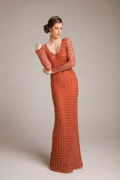 Crochet dress for women.