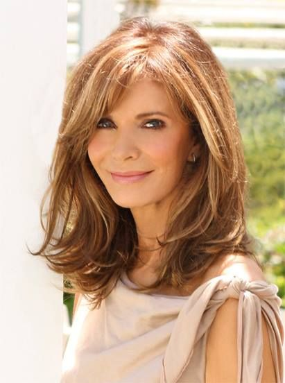 Jaclyn Smith- layered haircut