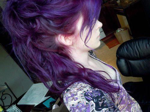 Love This Color Dark Purple Hair Tumblr Dark Purple
