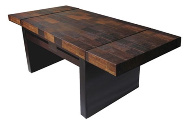 Urban Rustic Collection Dining Table Design 11  : 731b06f888a047779bd31917b2822e38 from pinterest.com size 588 x 395 jpeg 32kB