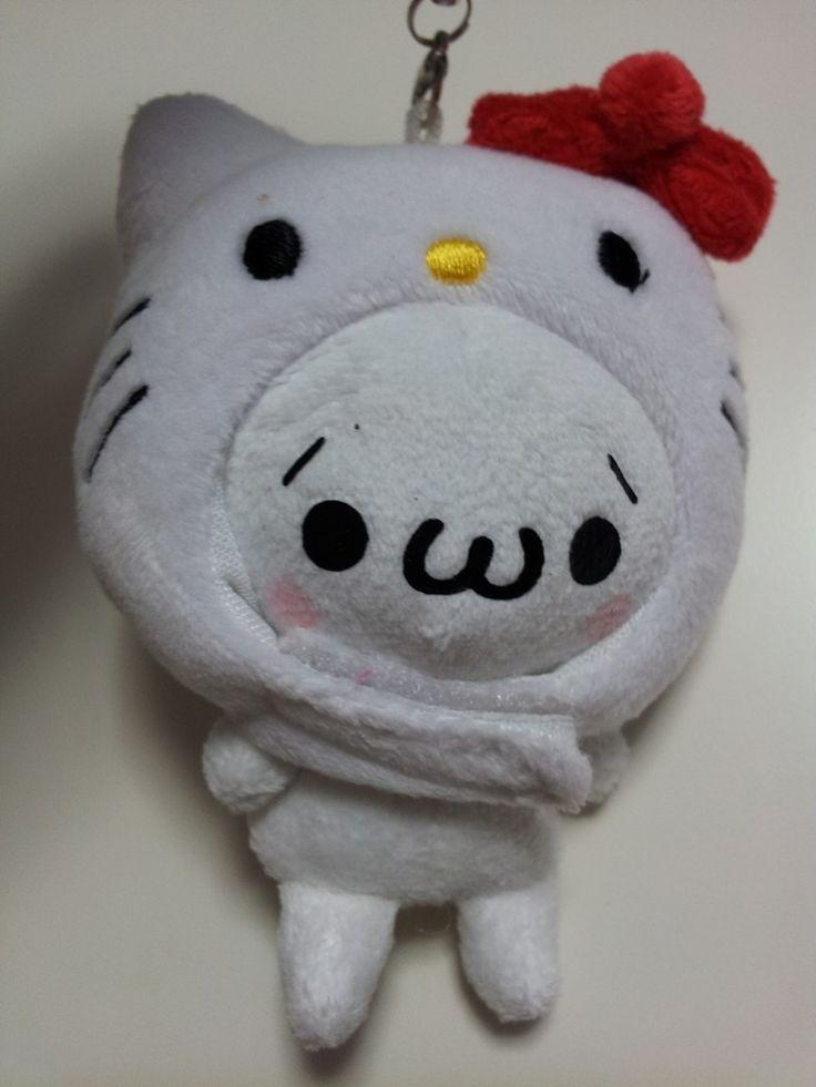 JPLand Stuff - Sanrio Hello Kitty x KAOMOJIN Plush Strap (White), $9.99 (http://www.jplandstuff.com/sanrio-hello-kitty-x-kaomojin-plush-strap-white/)