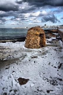 #Ibiza #nieve #invierno #frio