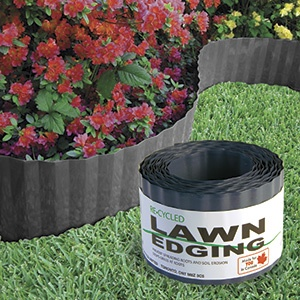 Deluxe Lawn Edging 40 Feet Prevent Spreading Roots Soil Erosion Unwanted Gr In Your Garden Flexible Provides Shape For A Flower Bed