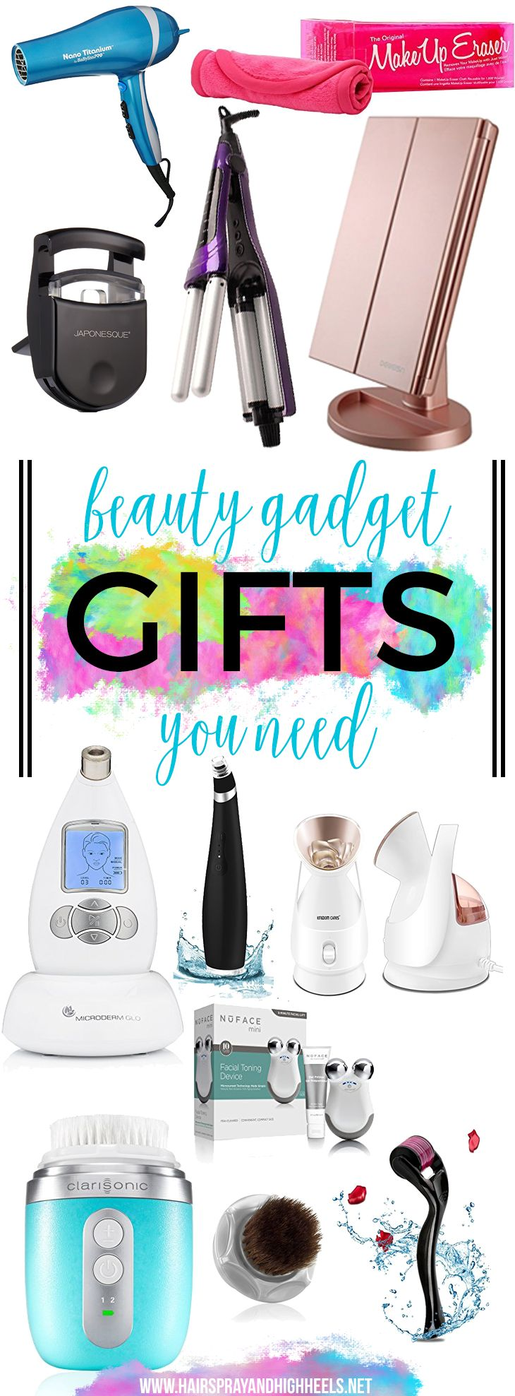 I have some of the biggest, the best, the most badass gift guides you ever did see. Check out this Beauty Gadget Gift Guide!