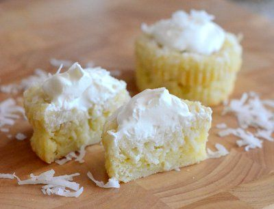 Impossible Coconut Custard Pie Cupcakes | Baking Bites