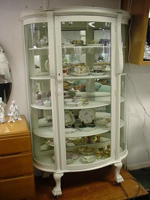 Lovely Replacement Curved Glass for Curio Cabinet