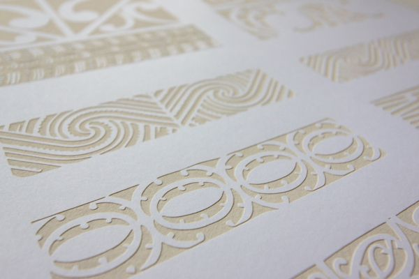 Mark and Pattern by Tobias Wilbur, via Behance