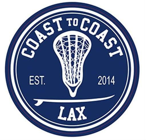 """4"""" x 4"""" Circle C2CLax Sticker Need extra stickers for both your Lax and Surf gear? Grab as many as you want...we'll make more! Our stickers are very high quality that are both durable and weather proo"""