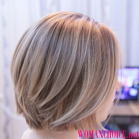 Мелирование на русые волосы фото 2017 на средние волосы