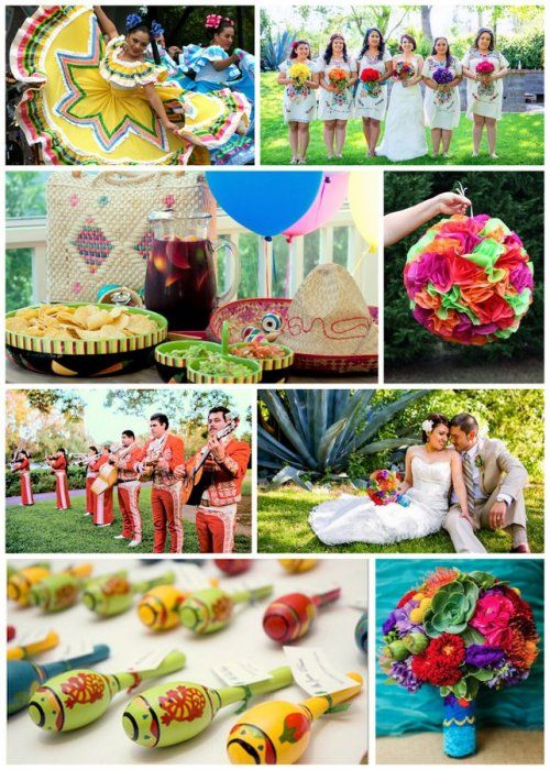 39 best Cinco De Mayo Weddings! images on Pinterest | Mexican ...
