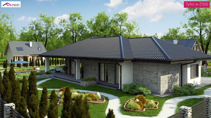 Z279 to wyjątkowy dom z kategorii projekty domów do 150 m2