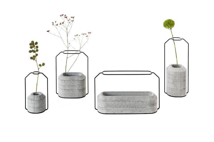 Design mobilier et objets en béton / Vase de Thinkk studio pour Specimen / Yooko: Design, décoration & architecture d'intérieur