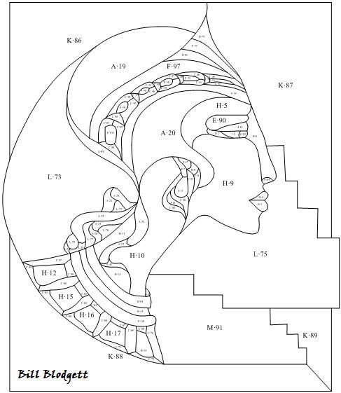Egyptian queen pattern | Patterns/Coloring Pages | Pinterest