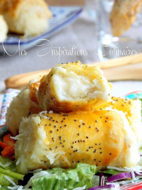manchons fromage sauce bechamel  Plus de découvertes sur Le Blog des Tendances.fr #tendance #food #miam #blogueur