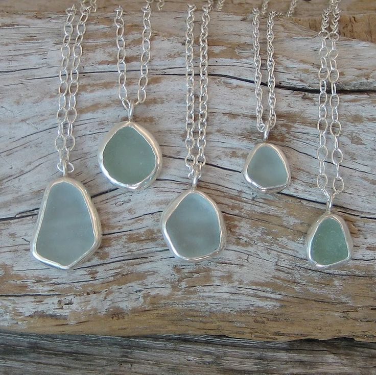 sea glass. that's really neat. I have a few pieces I'd like to do something with.