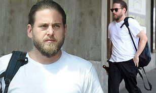 Jonah Hill shows off major weight loss stepping out in LA | Daily Mail Online