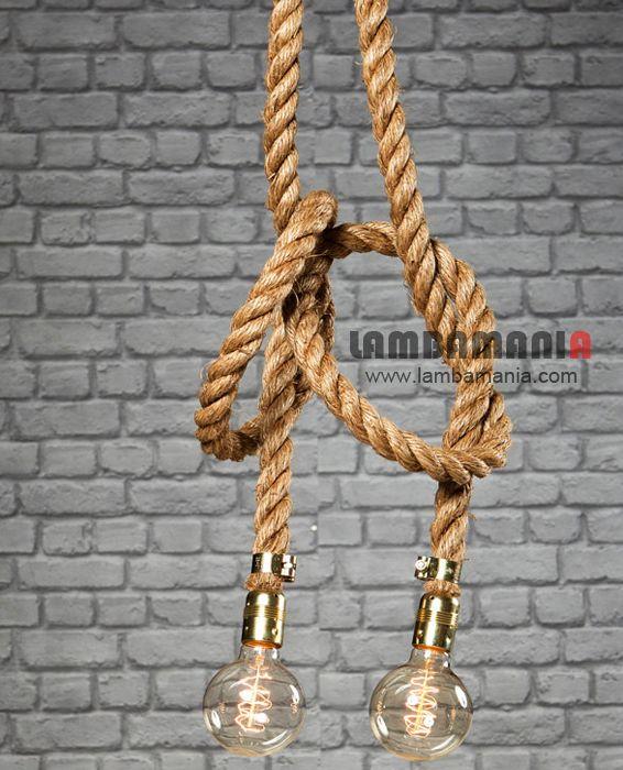 #halat #sarkit #aydinlatma #endüstriyel #ankara #antalya #lambamania #avize #istanbul #mersin #izmir #eskişehir #muğla #bursa #dekoratif #lighting #lightingdesign #icmimar #sakarya #samsun #mimari #alanya #artchitecture #interiordesign #rope #industrial #vintage #halat #vintage #architect #rope #pendant #industrial #endüstriyel