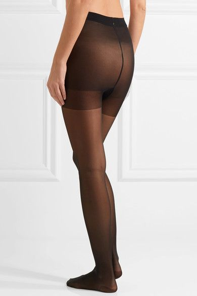 Wolford - Miss W 30 Denier Support Tights - Black - x large