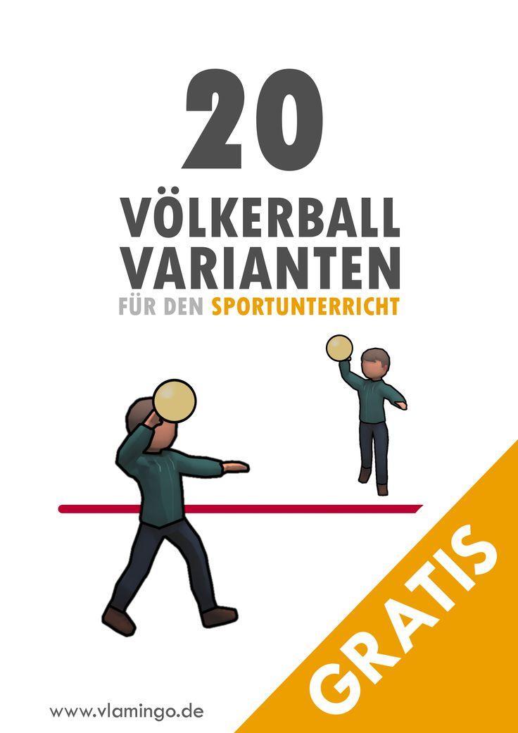 Völkerball: Anleitung + 20 schöne Varianten für den Sportunterricht