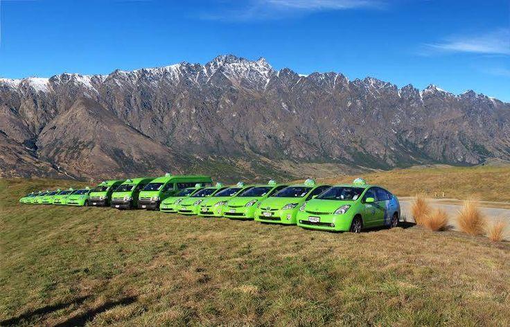 Green Cabs Queenstown fleet