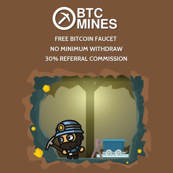 *BTC Mines*  You don't have to buy Bitcoin to earn Bitcoin :)  - No Risk - Fun to play - Share with friends and earn 30% commission #bitcoin #freebitcoin #bitcoingame #bitcoinmine #btcmines https://affiliateincomemarketing.com/btcmines