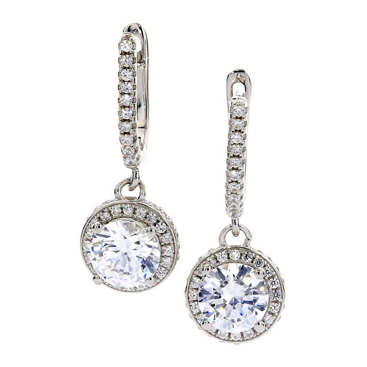 Dangling Halo Earrings