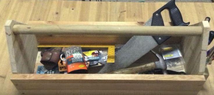 5 caisses à outils en bois à faire soi-même