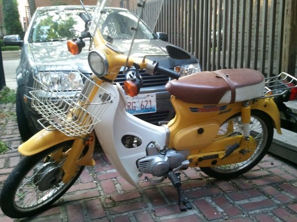 1981 Honda Passport C70 Scooter / Moped. ($1600)