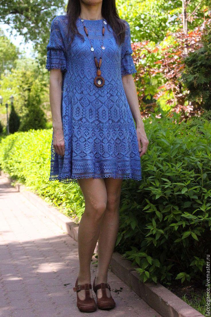 пошаговые инструкции вязания крючком платья для девочки 2