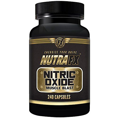 Nutrafx Nitric Oxide Booster | Double Strength 3000mg | Amino Acids L-Arginine L-Citrulline Beta Alanine | 240 Capsules 60 Servings Pre Workout Energy Boost For Bodybuilding Muscle Pump - http://fitness-super-market.com/?product=nutrafx-nitric-oxide-booster-double-strength-3000mg-amino-acids-l-arginine-l-citrulline-beta-alanine-240-capsules-60-servings-pre-workout-energy-boost-for-bodybuilding-muscle-pump