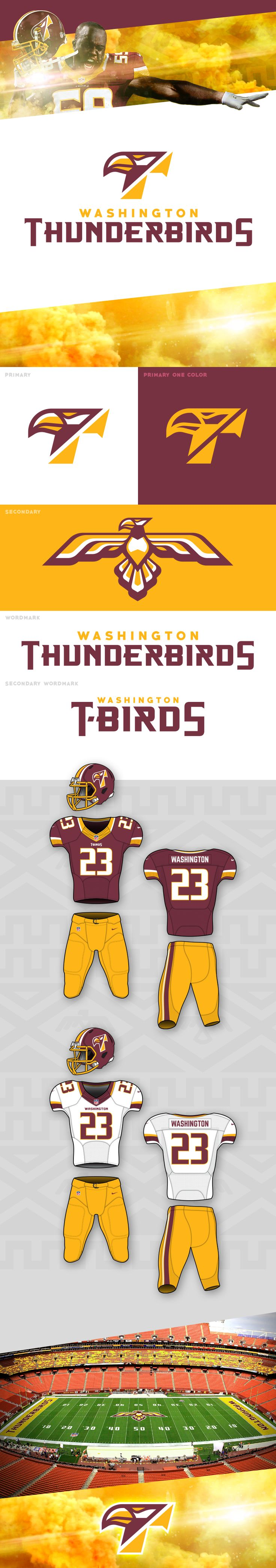 Due to the controversy of the Washington Redskin's team name, many people are calling for the rename of the team to something less offensive. I wanted to take a stab at doing just that.