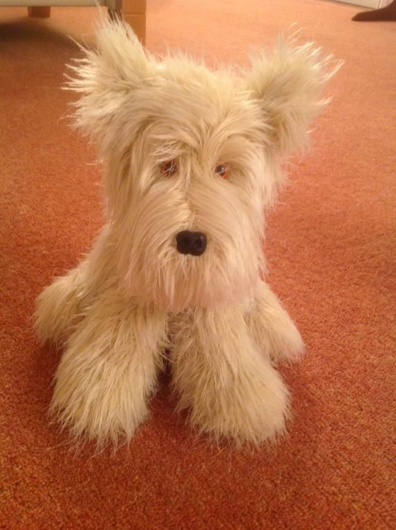 Knitting Pattern For Westie Dog : Winston the Westie Cherries, Toys and UX/UI Designer