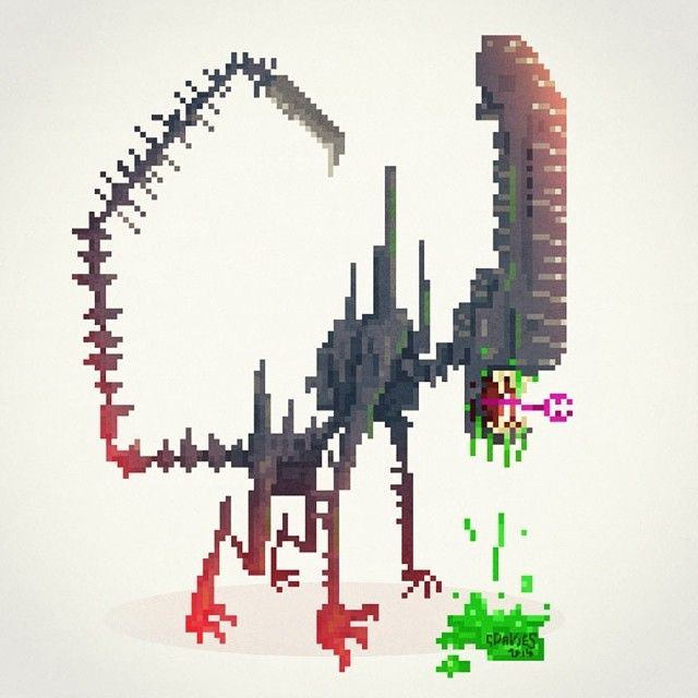 Mejores 47 imágenes de Pixel Art en Pinterest | Diseño del juego ...