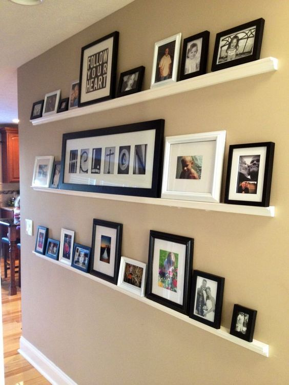 Image result for GALLERY WALL WITHOUT NAILS