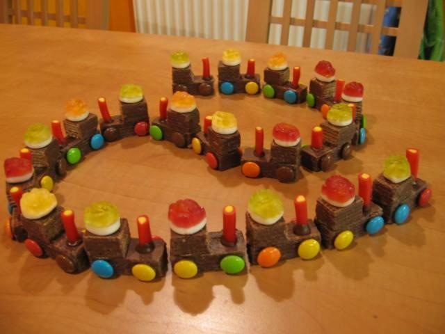 DIY vláček plný sladkostí – překvapení pro vaše děti