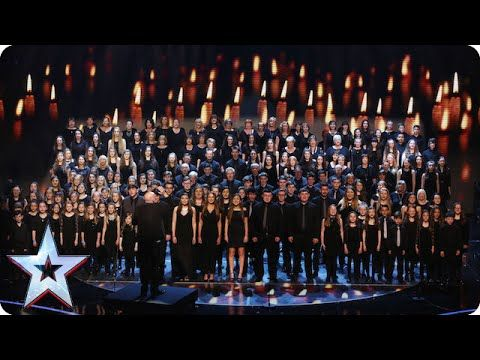 Welsh choir Côr Glanaethwy raise the roof | Semi-Final 1 | Britain's Got Talent 2015 - YouTube