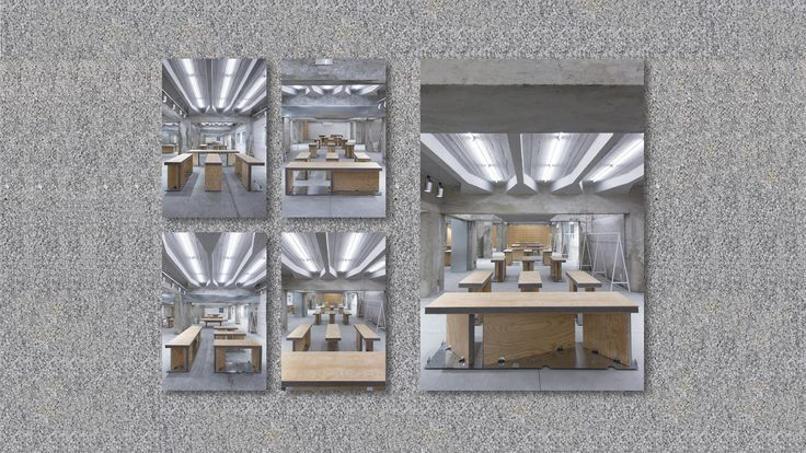 It consists of a collection of insulate panel structures and a presentation of these panel structures with their potential combination into small (41,3 x 124) and large (62 x 248) dresser desks. Each desk sits on top of a fixing plate cut into a galvanized steel sheet that works as a motherboard and secures the combinatorial potential. We look at this system to explore (and include) the full optimization of a galvanized steel sheet and insulate panel's standard commercial measures. This is…