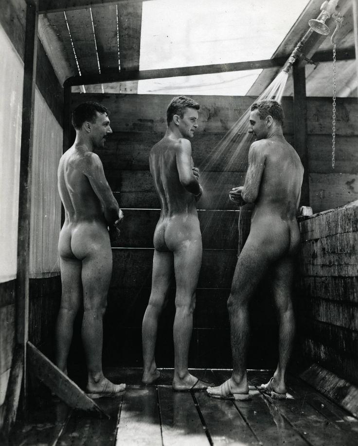 Ретро голые мужчины пробный