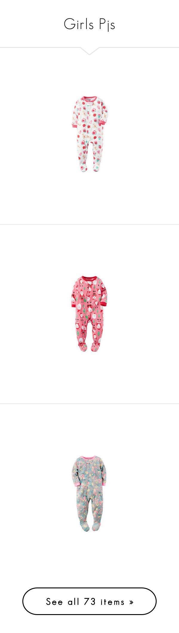 """""""Girls Pjs"""" by lillie010 ❤ liked on Polyvore featuring intimates, sleepwear, pajamas, petite pajamas, petite sleepwear, long sleeve sleep shirt, fleece sleepwear, sleep shirts, night shirt and long sleeve sleepwear"""