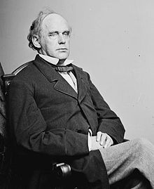 Salmon P. Chase, Chief Justice, and also Secretary of the Treasury, was the first to admit an African-American to argue a case before the Supreme Court--John Rock.