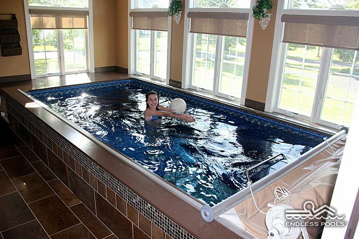 459 best images about endless pools on pinterest swim for Endless pool in basement